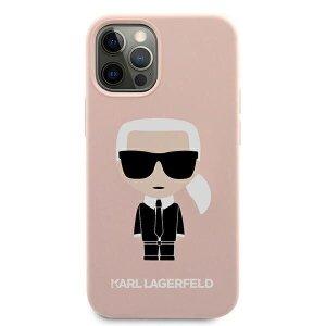 Husa Cover Silicone Case Karl Lagerfeld Liquid pentru iPhone 13 Pro