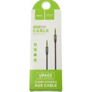 Cablu Audio Hoco UPA03 Gri 1M