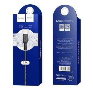 Cablu Hoco X20 pentru iPhone Negru 1M