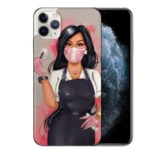 Husa Fashion Mobico pentru iPhone 11 Pro Max Nail Stylist