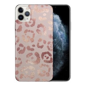Husa Fashion Mobico pentru iPhone 11 Pro Max Pink Print