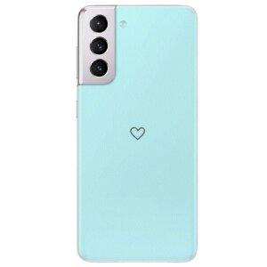 Husa Fashion Mobico pentru Samsung Galaxy S21 Plus The Blue Heart