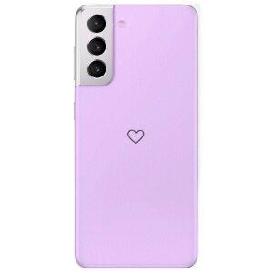 Husa Fashion Mobico pentru Samsung Galaxy S21 Purple Heart