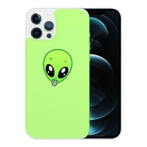 Husa Fashion Mobico pentru iPhone 12/12 Pro Alien