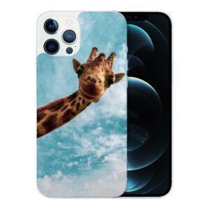 Husa Fashion Mobico pentru iPhone 13 Pro Max Cute Giraffe