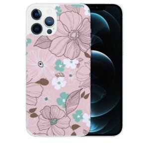 Husa Fashion Mobico pentru iPhone 13 Pro Max The Flowers