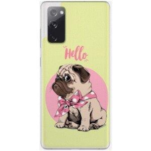 Husa Fashion Mobico pentru Samsung Galaxy S20 FE Hello Puppy