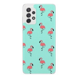 Husa Fashion Mobico pentru Samsung Galaxy A72/A72 5G Flamingo