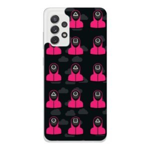 Husa Fashion Mobico pentru Samsung Galaxy A72/A72 5G Squid Game
