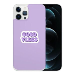 Husa Fashion Mobico pentru iPhone 13 Pro Good Vibes