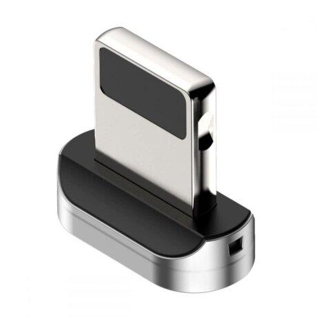 Adaptor Audio Lightning Baseus Magnetic Argintiu