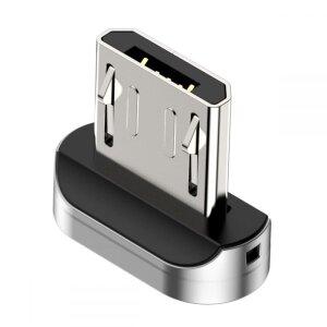 Adaptor Audio Micro Usb Baseus Magnetic Argintiu