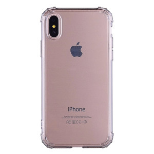 Apple Husa Cover pt. iPhone X/Xs, TPU, Shockproof, Fumuriu