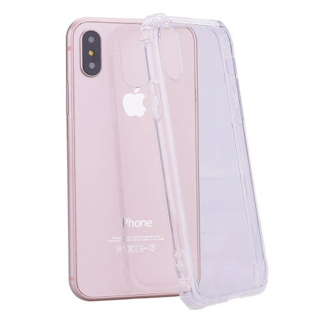 Apple Husa Cover pentru iPhone X/Xs, TPU, Shockproof, Transparent