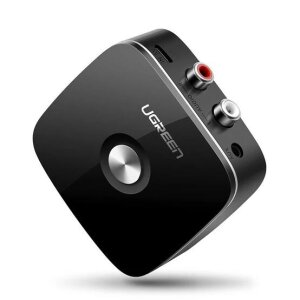 Audio Receiver Bluetooth Ugreen Jack 3.5mm 2RCA BT 4.1 Negru
