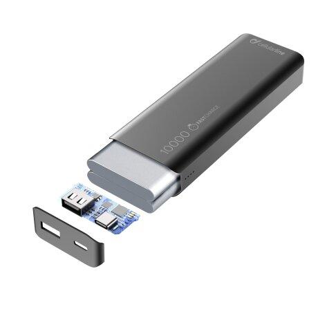 Baterie Externa Cellularline 10000mAhNegru