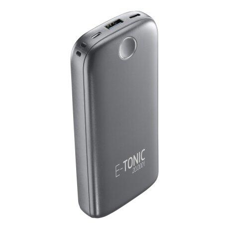 Baterie Externa Cellularline 20000mAh E-Tonic 1xUSB Negru