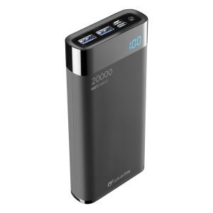Baterie Externa Cellularline Code:FREEPMANTA20HDK 20000mAh Manta QC 3.0 3xUSB 18W Negru