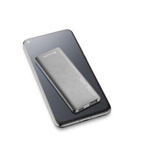Baterie Externa Cellularline 3000mAh Ultra Slim QC 3.0 1xUSB 10W Negru