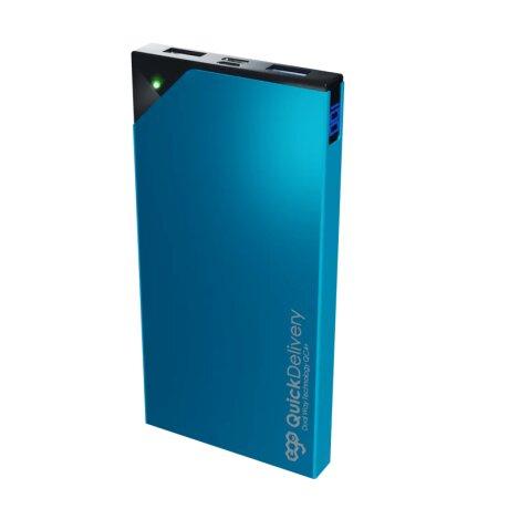 Baterie Externa Ego 10000mAh 25W Albastru