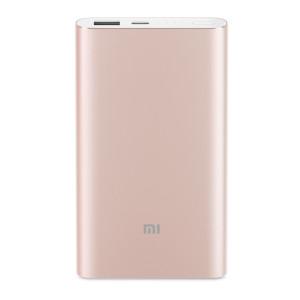 Baterie Externa Xiaomi Mi Pro 10000mAh QC 3.0 18W Auriu