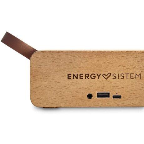 Boxa Bluetooth Energy Eco Beech Wood M45043 Wireless BT 5.0 6W Maro