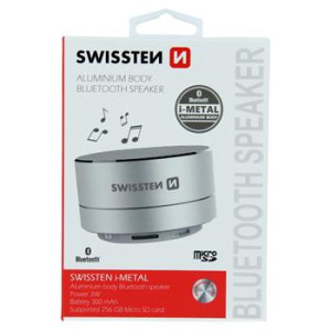 Boxa Bluetooth Swissten I-Metal Mini BT 4.0 Argintiu