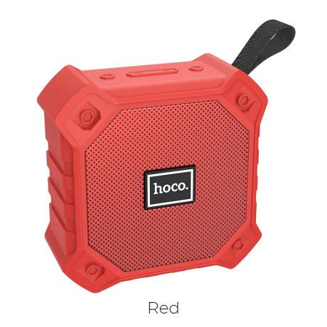 Boxa Wireless Hoco BS34 FM Radio Bt 5.0 Rosu