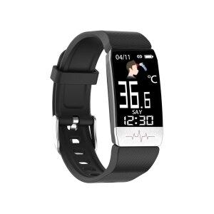 Bratara Fitness Ksix Thermometer HR 2.0 Negru