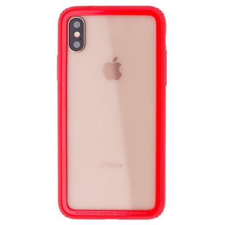 Bumper iPhone X/XS Border Baseus Rosu