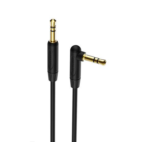 Cablu Audio Auxiliar, Elbow Design, BL4 Negru Borofone