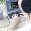 Cablu Audio Auxiliar Elbow Design UPA14 Hoco Negru