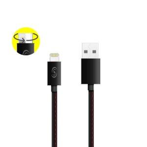 Cablu Date 2in1 Micro Usb+Lightning Fonex 1m Negru