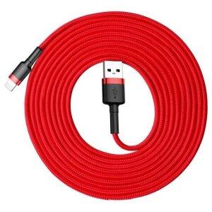 Cablu Date Lightning Baseus Cafule  2A 3m Rosu