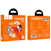 Cablu Date Lightning Hoco X46 Pleasure Silicone 1m Rosu
