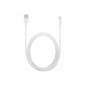 Cablu Date Lightning to Usb Apple  2m Alb