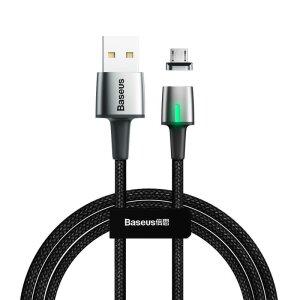 Cablu Date Micro Usb Baseus Magnetic  1.5A 2m Negru