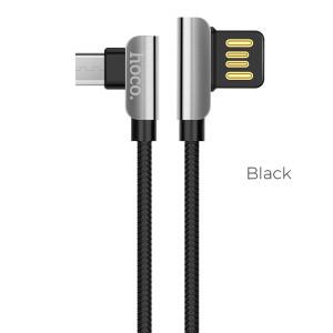 Cablu Date Micro USB U42 Negru Hoco