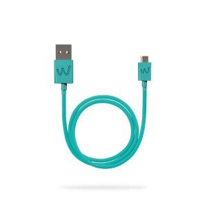 Cablu Date Micro Usb Wiko 1m Verde