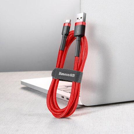 Cablu Date Type C Baseus Cafule  3A 1m Rosu