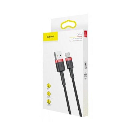 Cablu Date Type C Baseus Cafule 2A 2m Negru