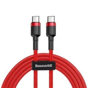 Cablu Date Type C Baseus Cafule  QC 3.0 60W 3A 2m Rosu
