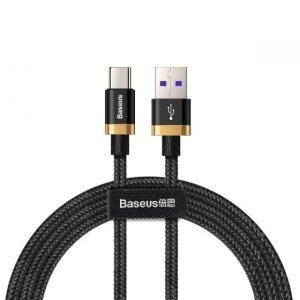 Cablu Date Type C Baseus Purple Gold Red  QC 3.0 40W 5A 2m Negru-Auriu