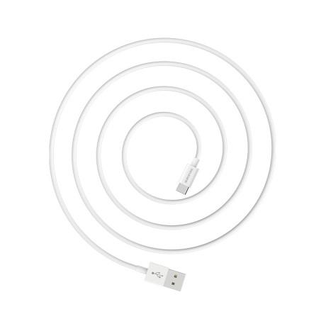 Cablu Date Type C Borofone BX22 1m Alb