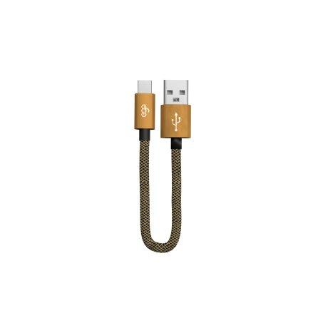 Cablu Date Type C Ego  QC 3.0 1m Auriu