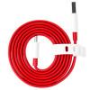 Cablu Date Type C OnePlus Warp 1.5m Rosu