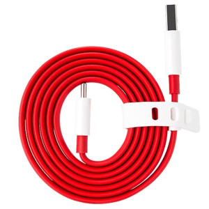 Cablu Date Type C OnePlus Warp 1.5m, Rosu