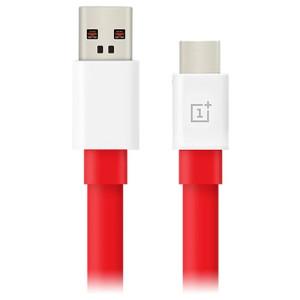 Cablu Date Type C OnePlus Warp 1m, Rosu