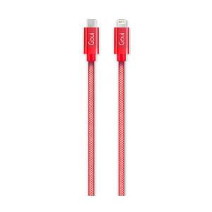 Cablu Date Type C to Lightning Goui Metallic G-METALLICC94-R 1m Rosu