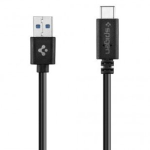 Cablu Date Usb-C Spigen 3.0 1.5m Black